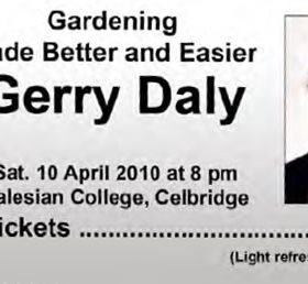 Acre Event with Gerry Daly